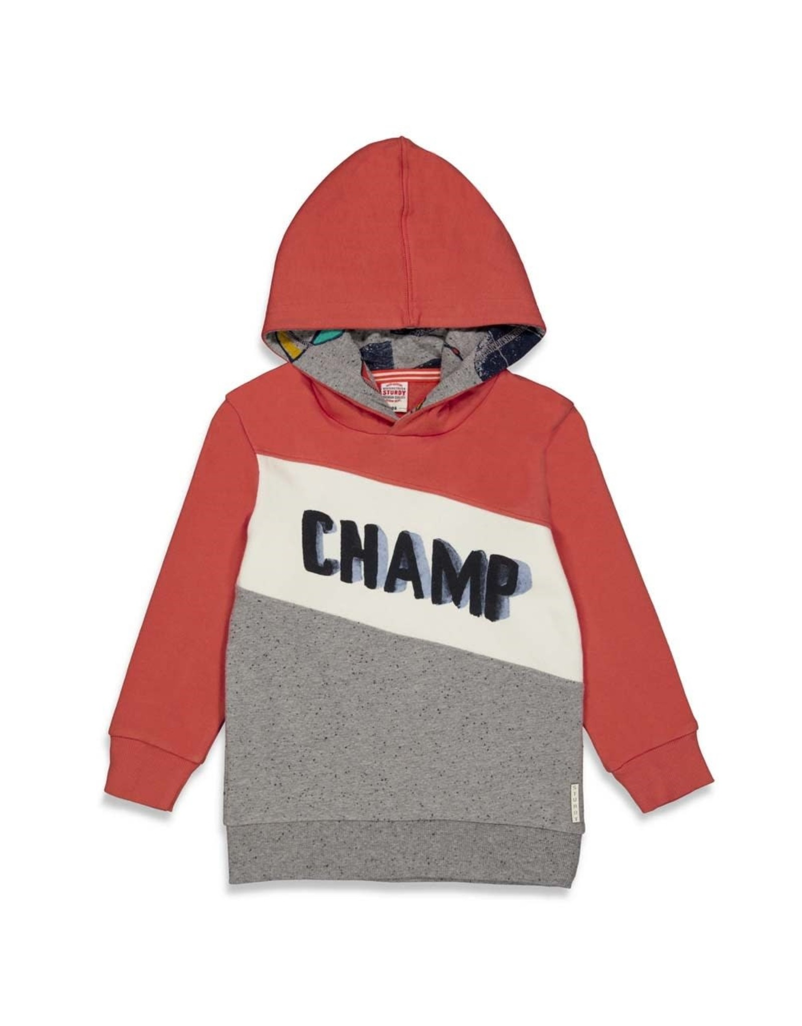 Sturdy Hoody - Press And Play Rood