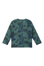 Koko Noko Boys T-shirt ls Green + navy
