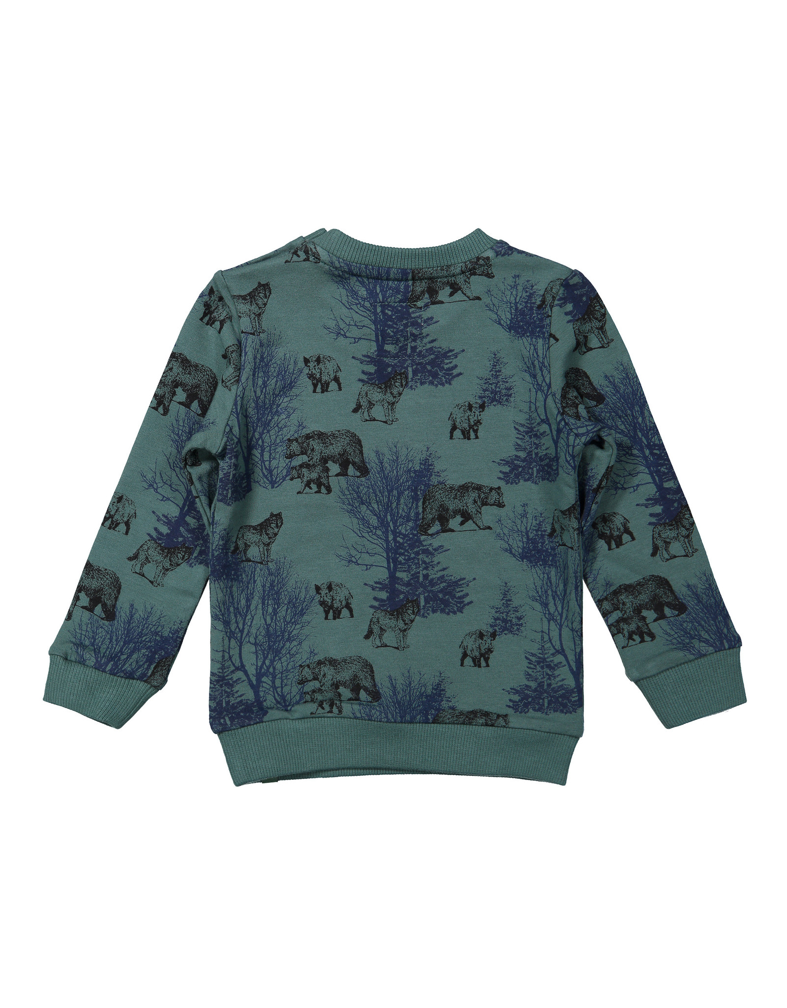 Koko Noko Boys Sweater ls Green + navy