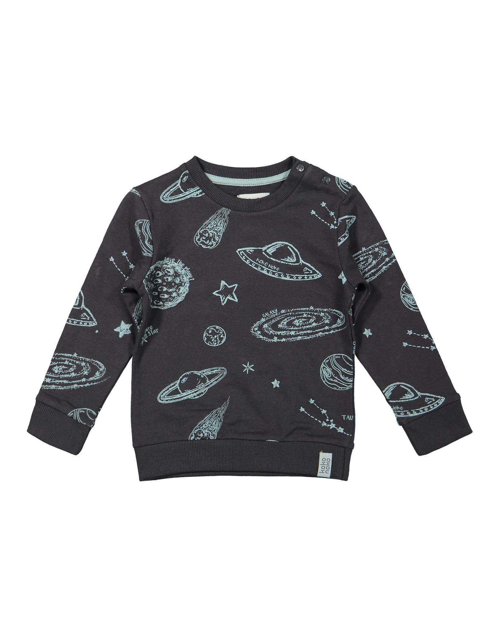 Koko Noko Boys Sweater ls Dark grey