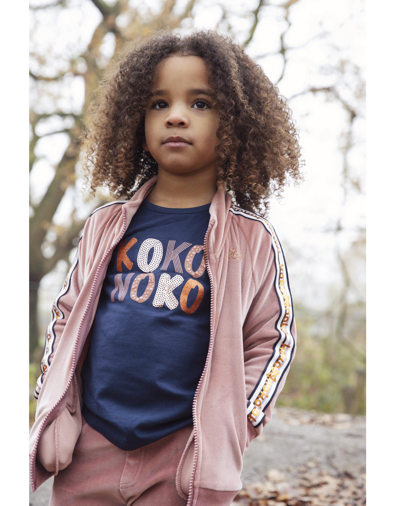 Koko Noko Girls T-shirt ls Navy