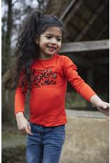 Koko Noko Girls T-shirt ls Red