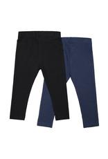 Koko Noko Girls 2-pack legging Navy + black