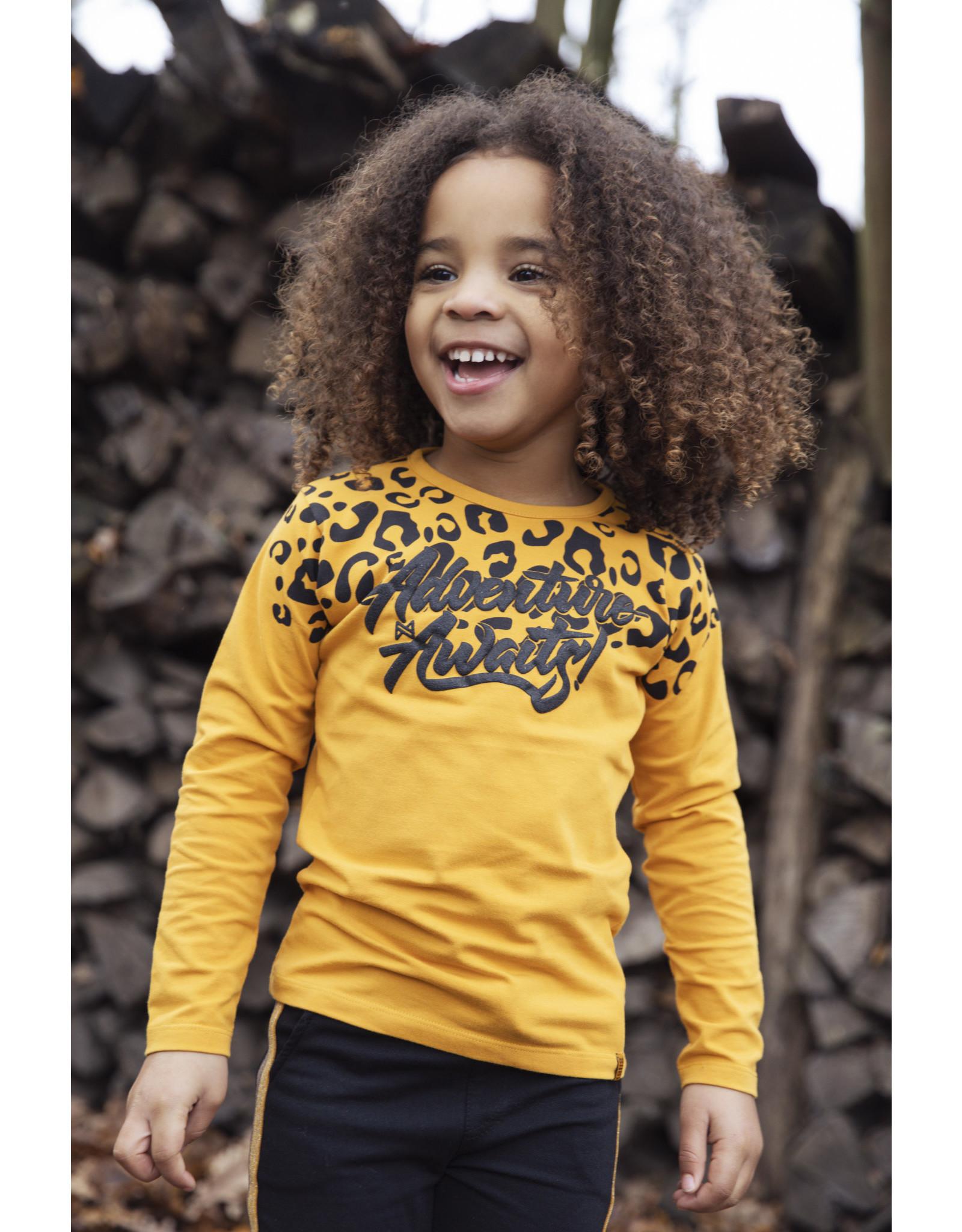 Koko Noko Girls T-shirt ls Ochre