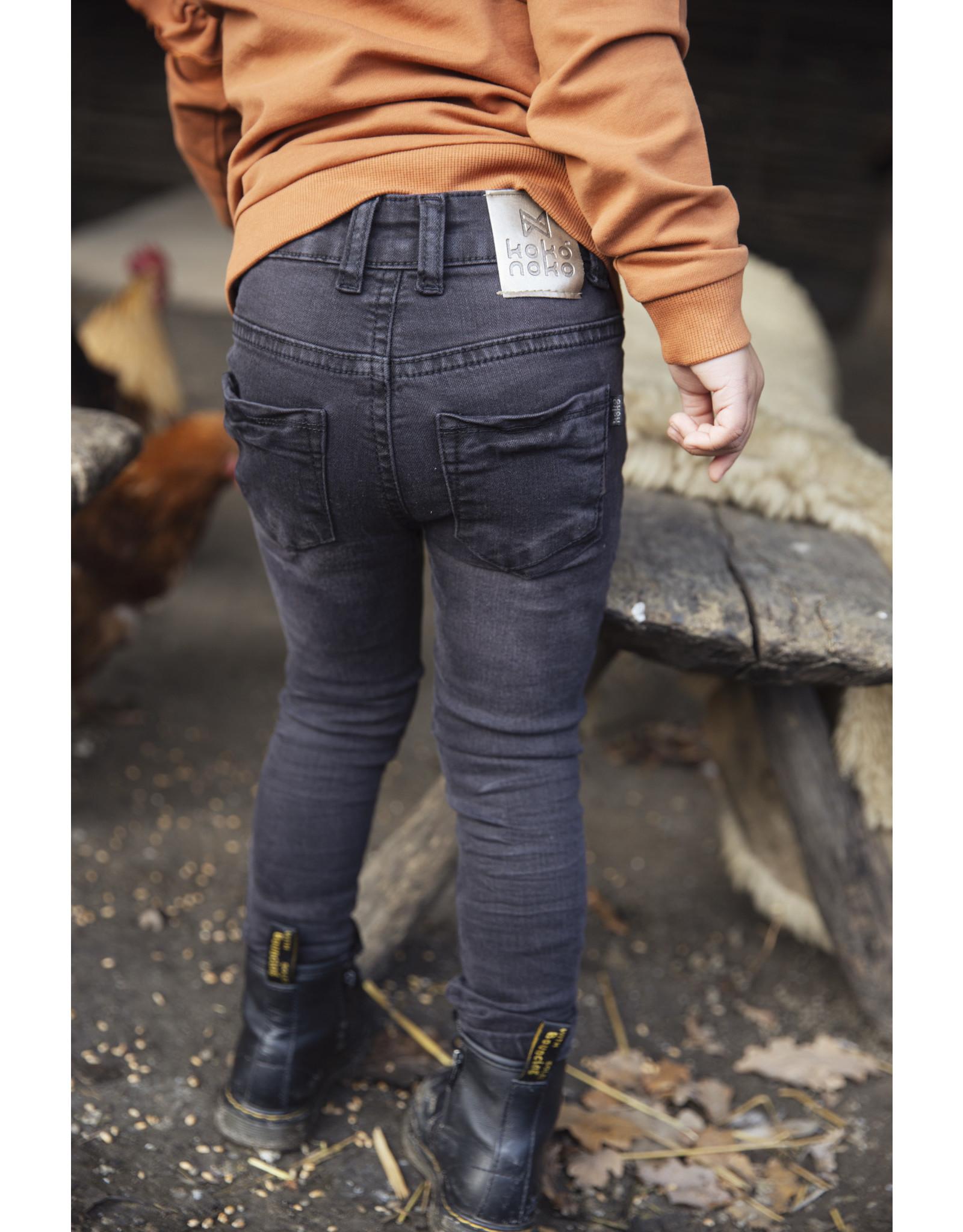 Koko Noko Girls Jeans Black
