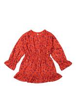 Koko Noko Girls Dress ls Red