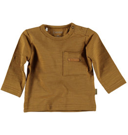 BESS Shirt l.sl. Pocket Brown