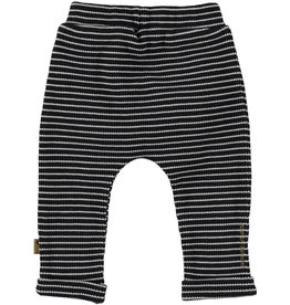 BESS Pants Striped Anthracite