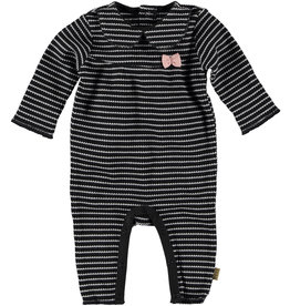 BESS Suit l.sl. Striped Bow Anthracite