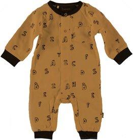 BESS Suit l.sl. Letters Brown
