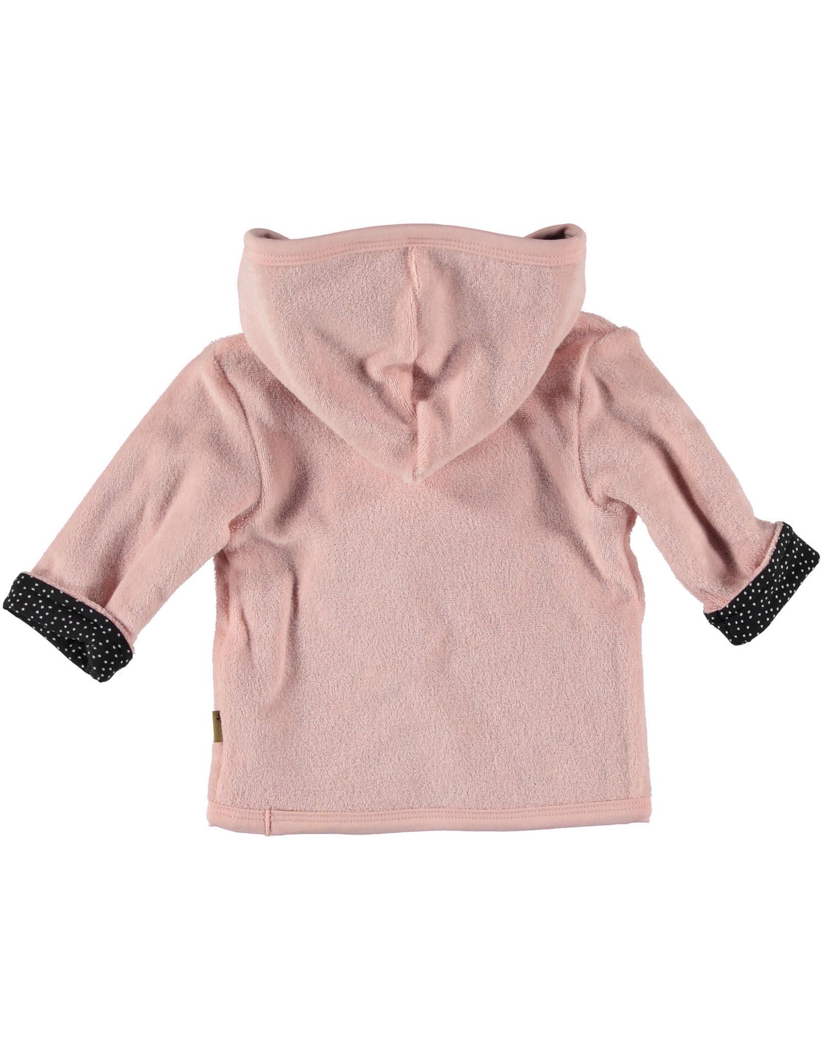 BESS Cardigan Reversible Pink