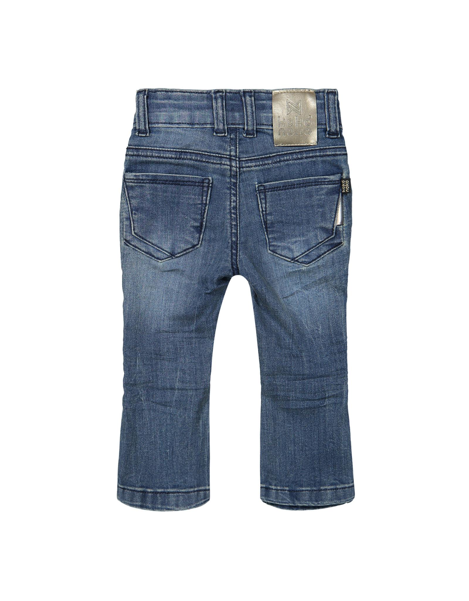 Koko Noko Girls Jeans Bluejeans w21