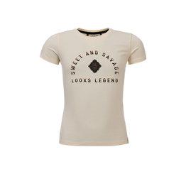 Looxs 10Sixteen T-shirt Creamy