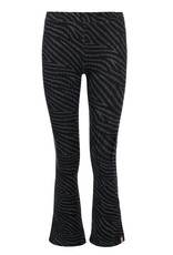 Looxs 10Sixteen Tie dye flare pants stormy zebra