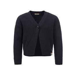 Looxs 10Sixteen knitted cardigan off black