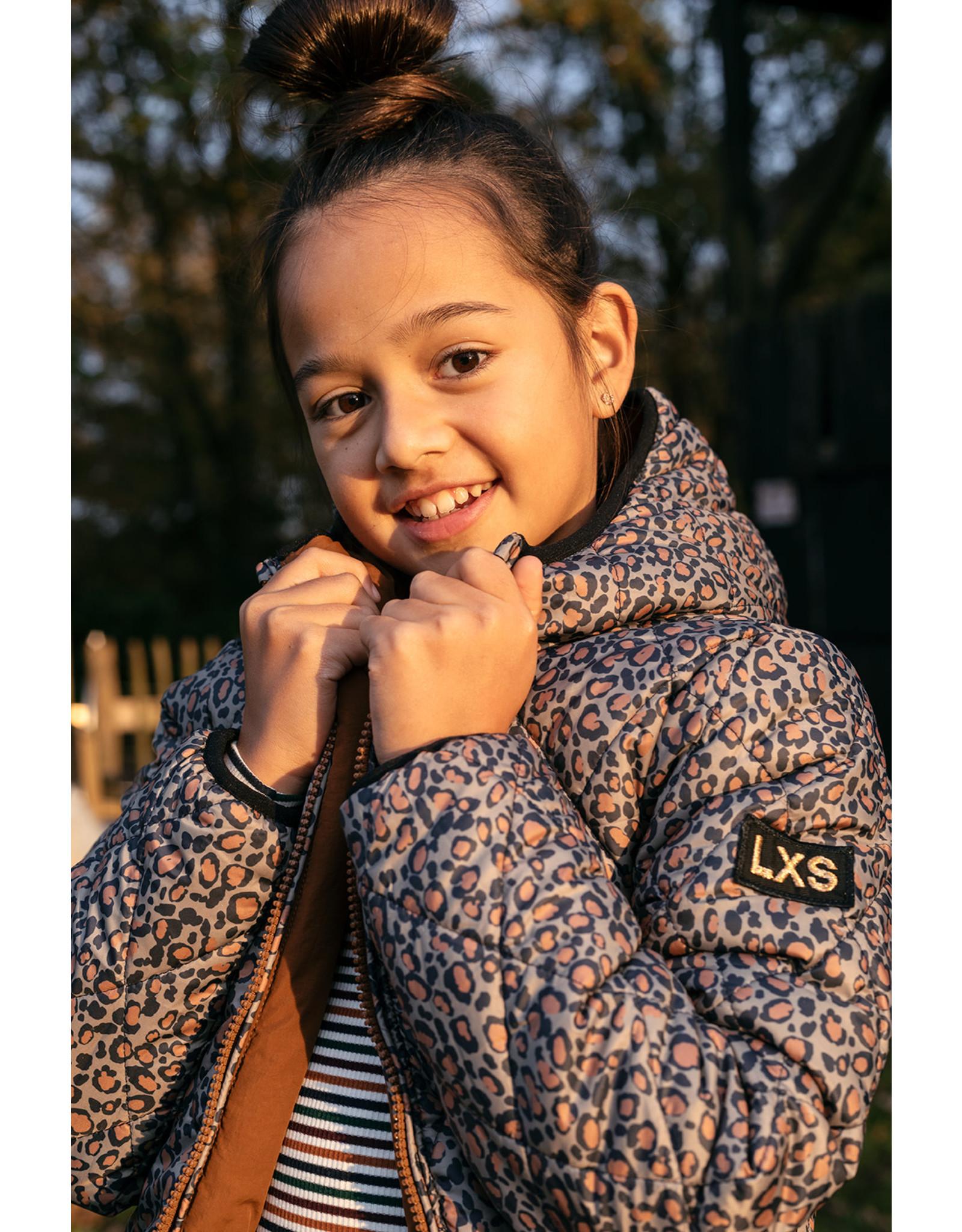 Looxs 10Sixteen reversible parka coat Leopard AO