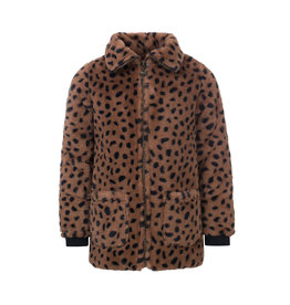 Looxs Little jacket cheeta fur cheeta