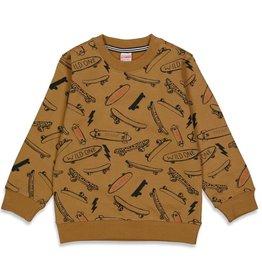 Sturdy Sweater AOP - On A Roll Geel