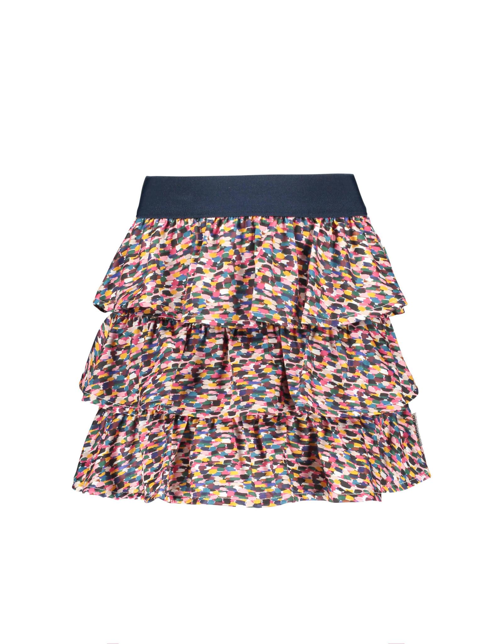 B-nosy Girls 3-layer sporty spickles skirt 970 Sporty spickles B.Sporty