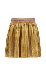 Like Flo Flo girls metallic plisse skirt Gold