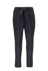 Like Flo Flo girls stripe sweat pants Navy