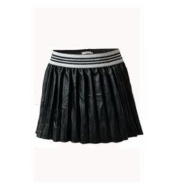 Topitm Misty skirt plisee leather black