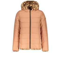 Like Flo Flo girls reversible fur jkt Old pink