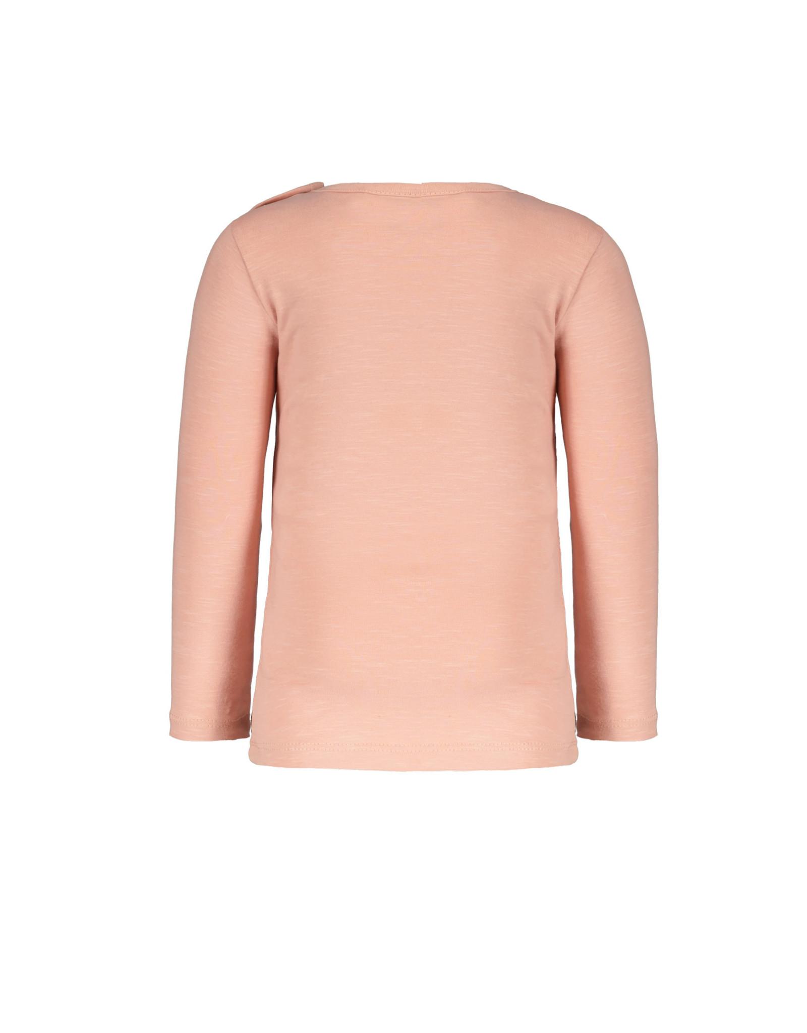 Like Flo Flo baby girls jersey tee Faded pink