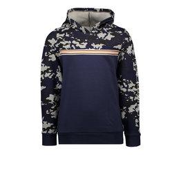 Tygo & vito T&v hoody with contrast camo Navy