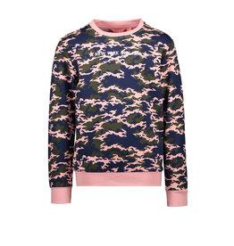 Tygo & vito T&v sweater AOP camo Soft Pink