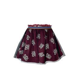 Topitm Maxine skirt snake print