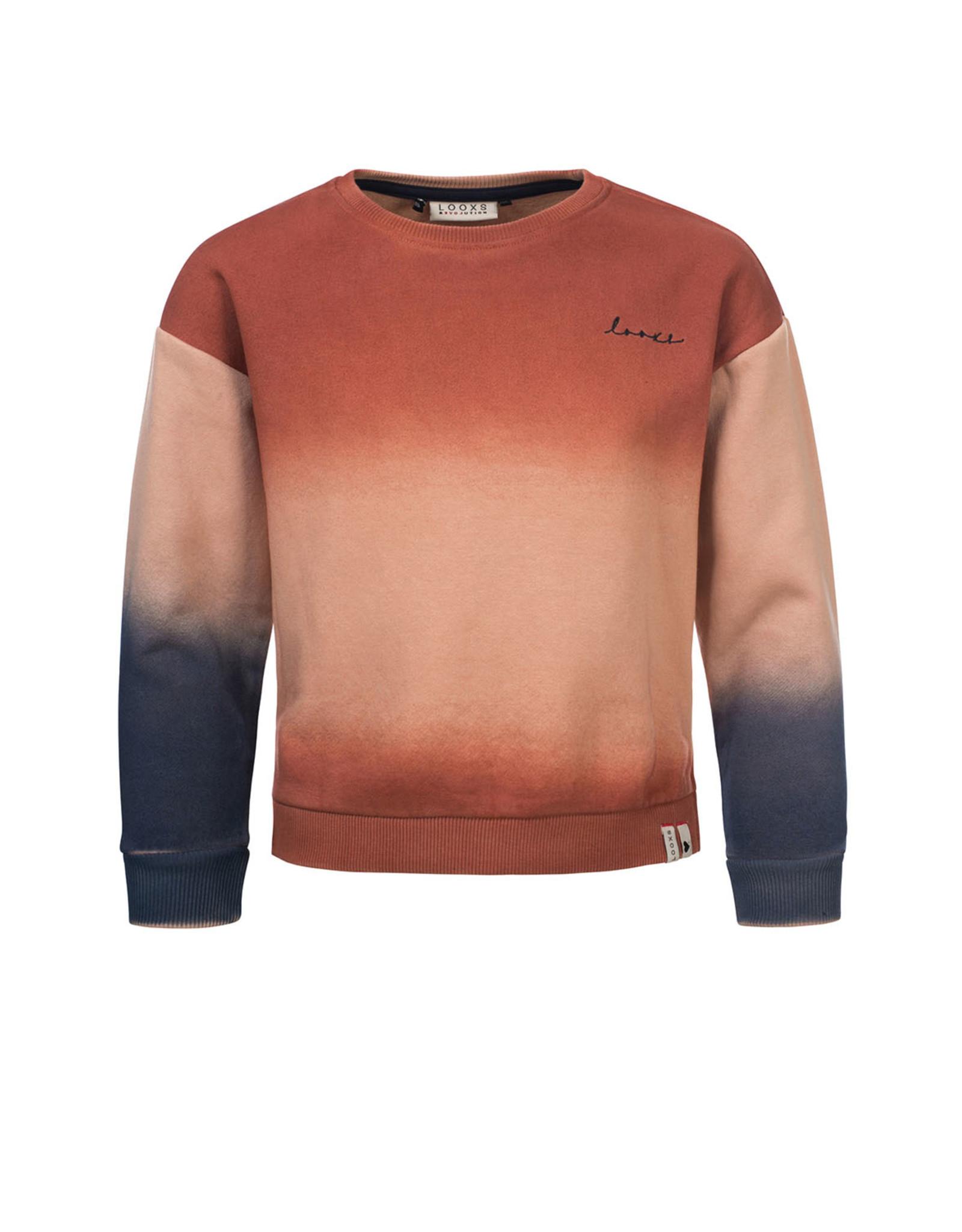 Looxs 10Sixteen dipdye sweater Dipdye