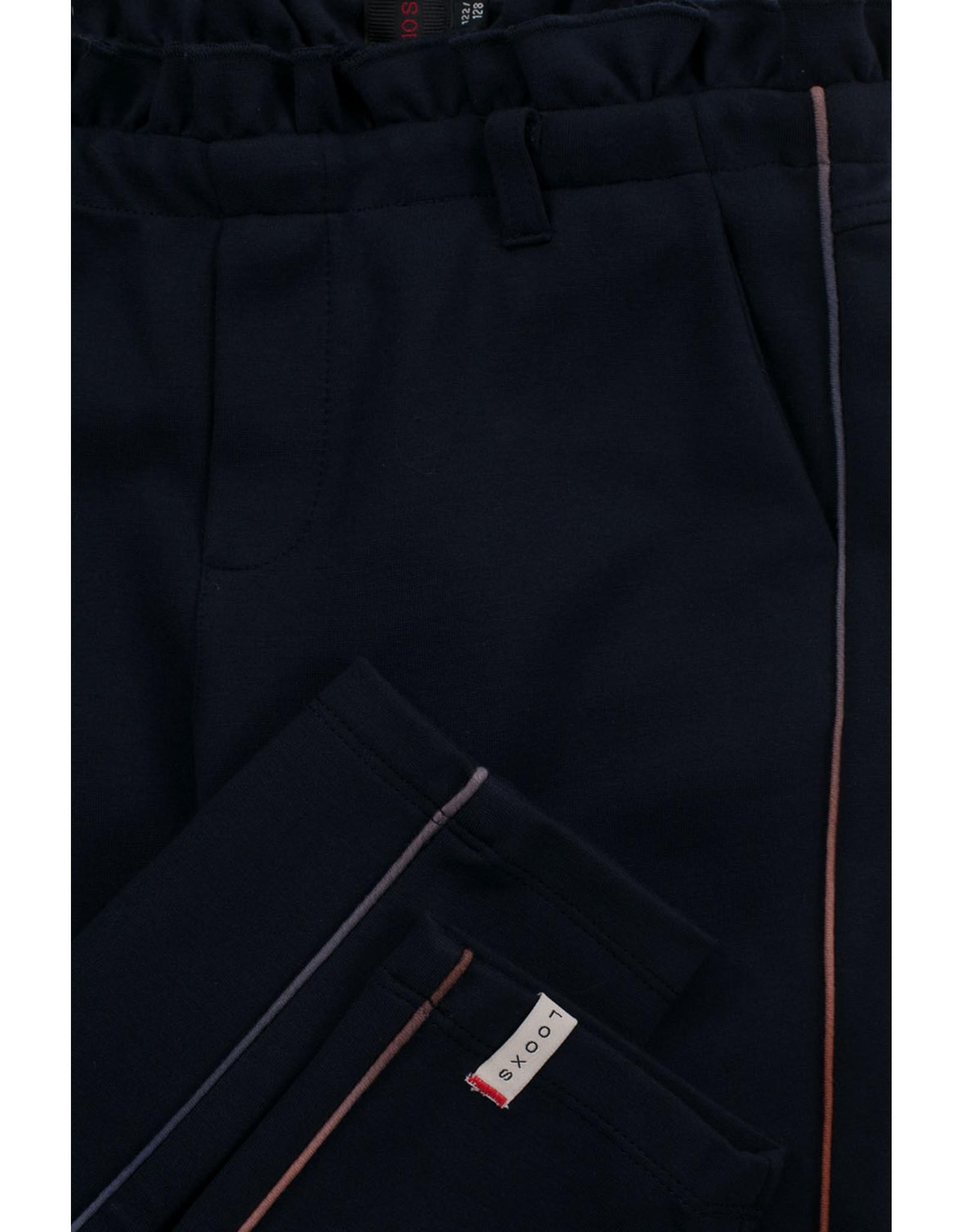 Looxs 10Sixteen paperbag pants navy