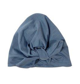 COS I SAID SO Turban Hat Faded Denim