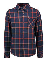 B-nosy Boys big check woven shirt with patched pocket 184 clever check