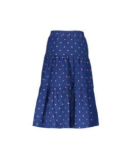 B-nosy Girls tough dots midi skirt with smocked wb 122 tough dots
