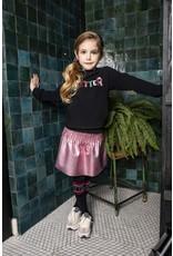 B-nosy Girls coated skirt with smocked wasitband 230 confetti