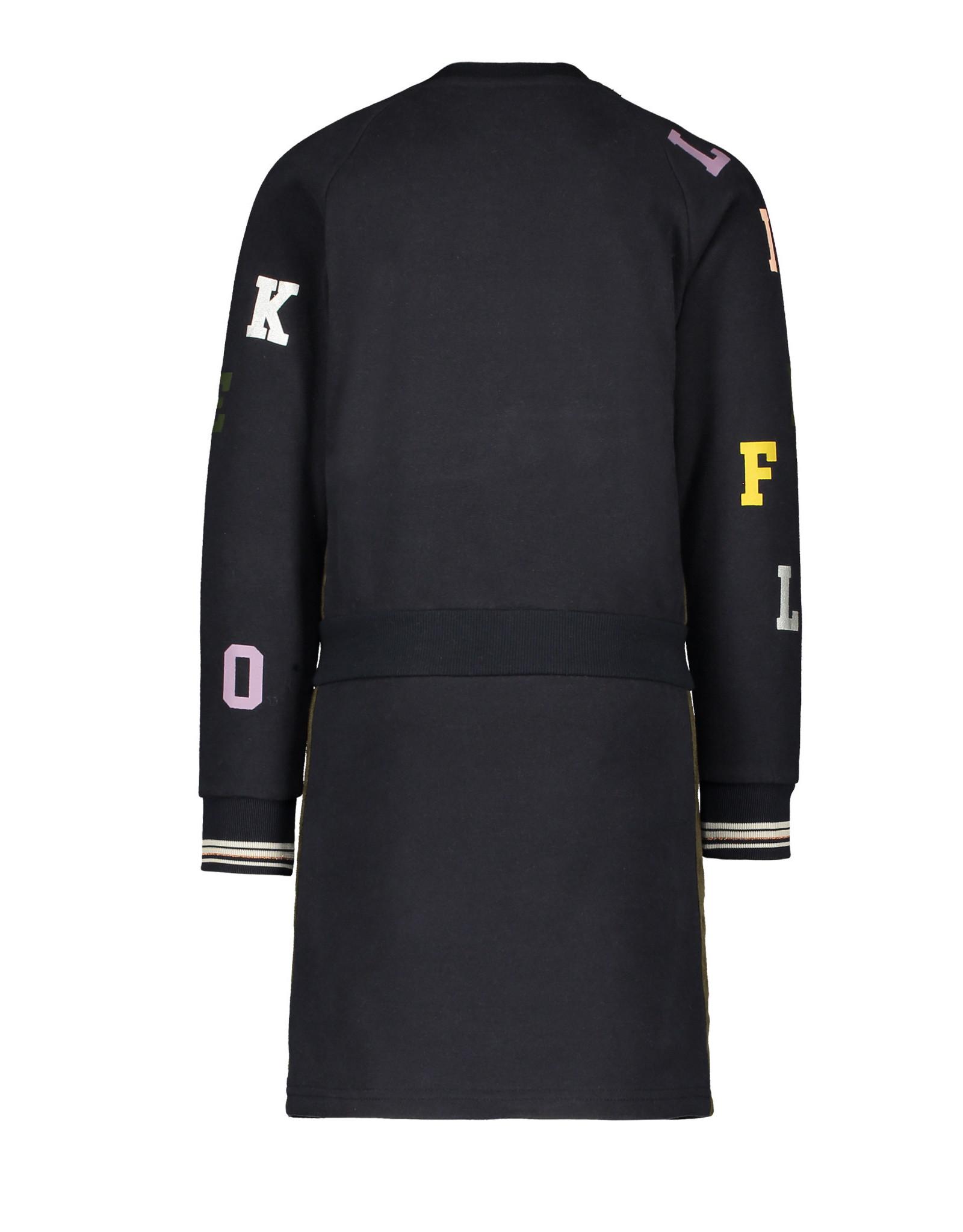 Like Flo Flo girls sweat dress LIKE FLO Navy