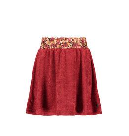 Like Flo Flo girls terry high smock waist skirt Rust