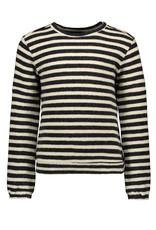 Like Flo Flo girls yd fleece top Stripe