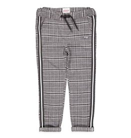 Sturdy Geruite broek - On A Roll Zwart