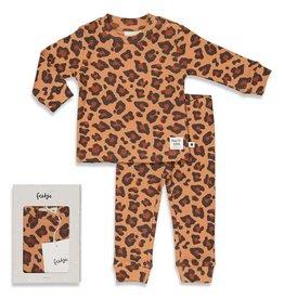 Feetje Leopard Lee - Premium Sleepwear by FEETJE Hazelnoot