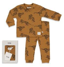 Feetje Tiger Terry - Premium Sleepwear by FEETJE Camel