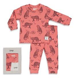 Feetje Roarr Ruby - Premium Sleepwear by FEETJE Roze