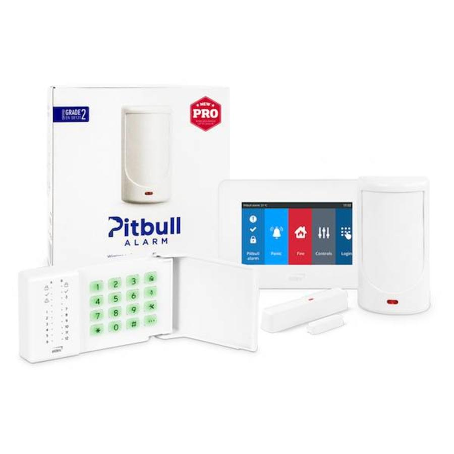 GSM control panel with integrated movement sensor – Pitbull Pro-1