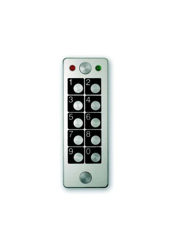 Anti-vandalism stand-alone keypad