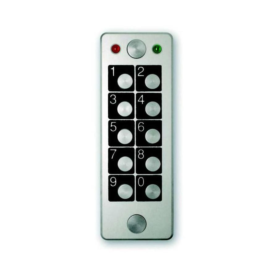 Anti-vandalism stand-alone keypad, 1 relay, 60 codes programmable-1