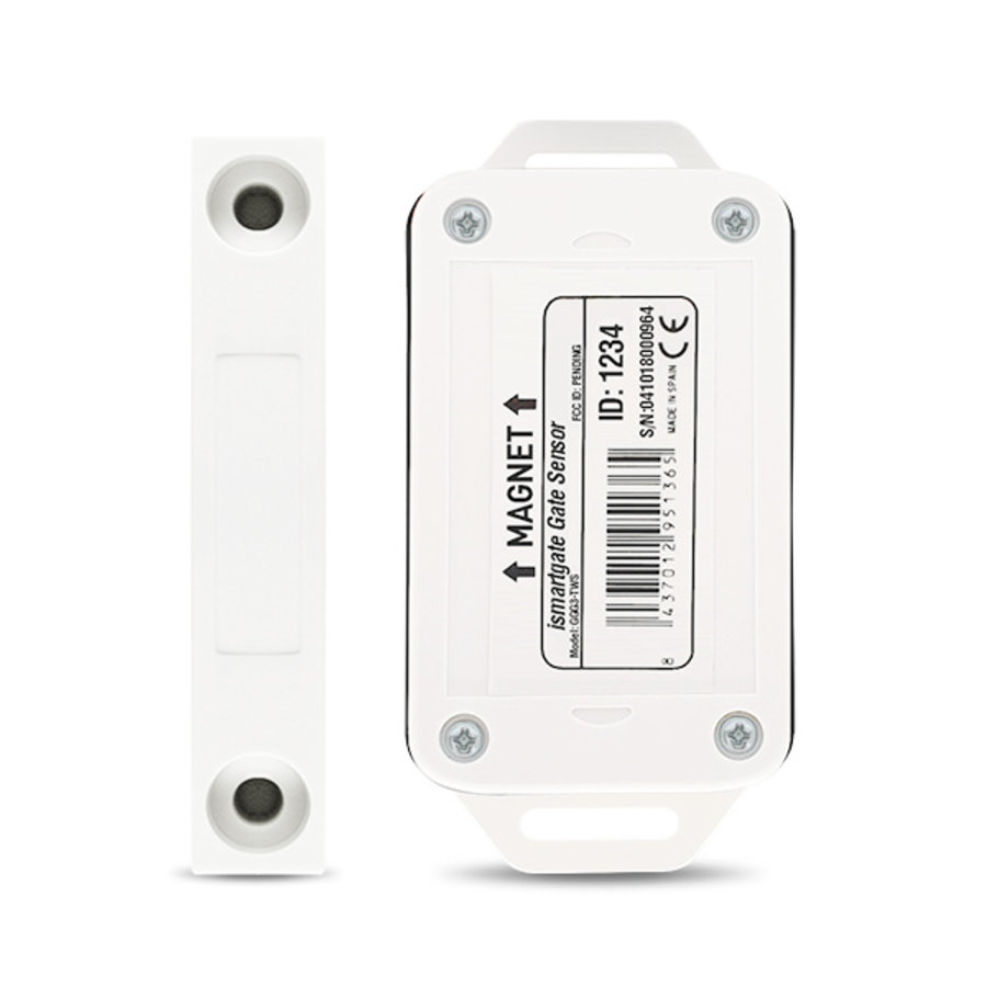 Draadloze magnetische sensor  (hekken)-2