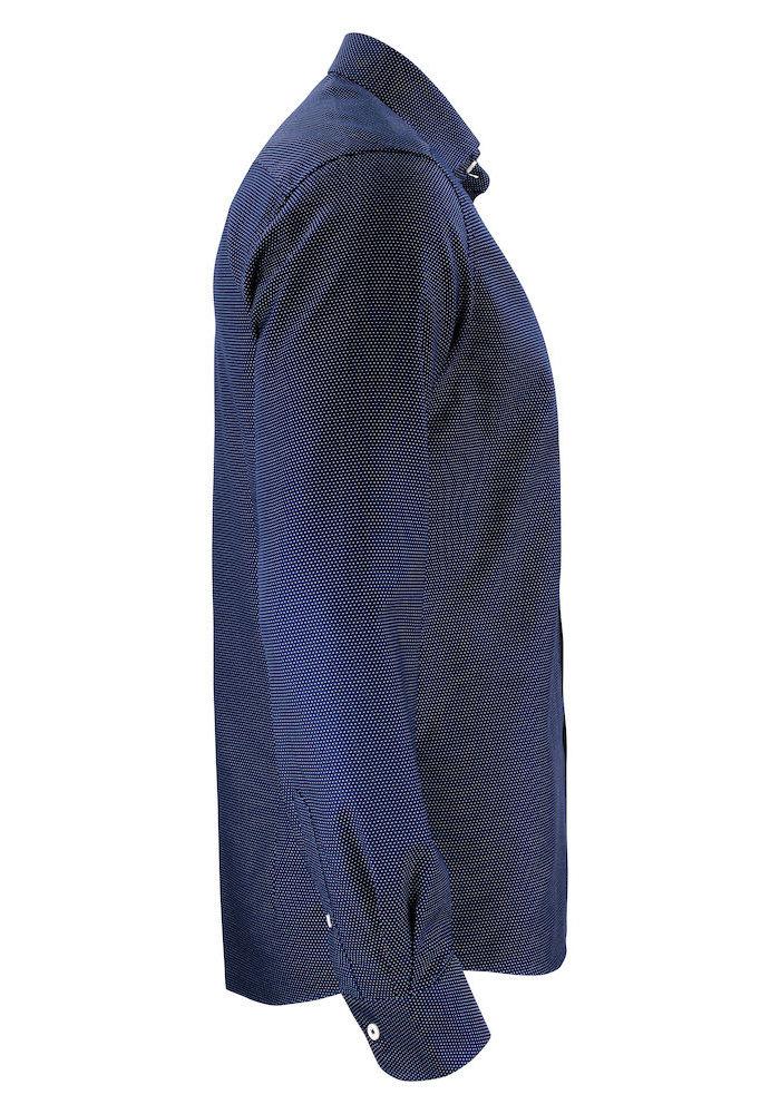Purple Bow 49 Regular Fit Overhemd Navy/Wit