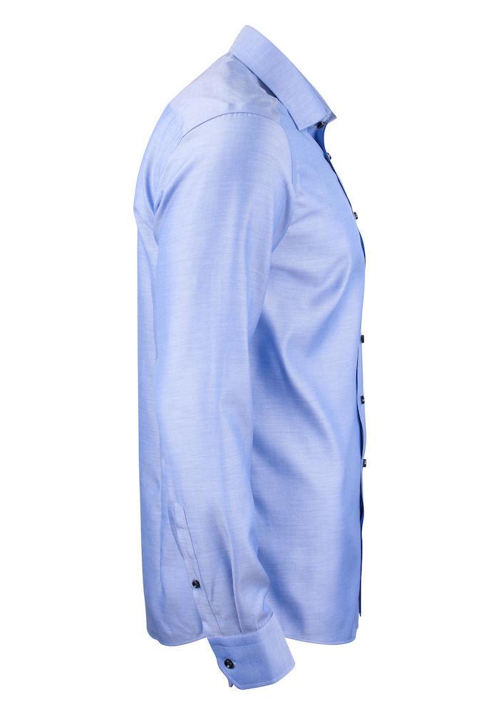 Green Bow 01 Regular Fit Overhemd Diep Blauw